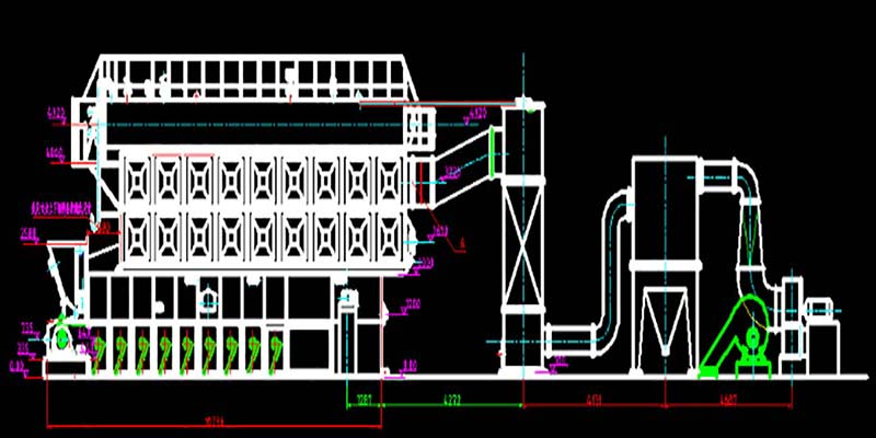 SZL steam boiler Drawing