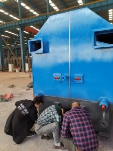 checking boiler
